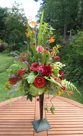 An arrangement