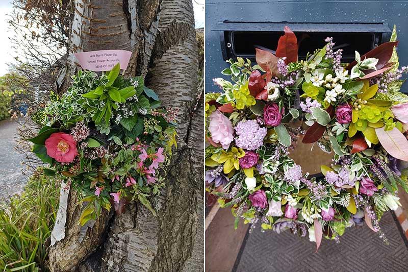 Hale Barns Flower Club National Flower Arranging Day Arrangements